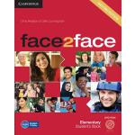 【预订】Face2face Elementary Student's Book with DVD-ROM 978110