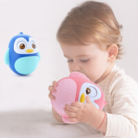 贝恩施婴儿企鹅不倒翁娃娃玩具宝宝 早教益智玩具0-2岁