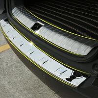 东风风神AX7后护板 内外后护板不锈钢 后备尾箱门槛条护板改装亮条