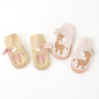 201901041412239062双0-12个月秋冬厚男女宝宝新生婴儿童地板鞋袜子松口防滑底