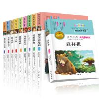 昆虫记 绿野仙踪 爱的教育初中小学生必读课外阅读书籍森林报名人传书8-10-12-15岁三四五六七年级课外书读物畅销名