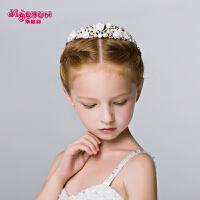 女童公主发夹头箍王冠女孩演出饰品配饰儿童皇冠头饰发箍发饰