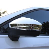 17-18款大众途观l后视镜刮罩刮条倒车镜装饰贴进口tiguan改装