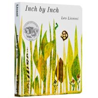 一寸虫 英文原版绘本纸板书 Inch by Inch 吴敏兰书单 凯迪克大奖李欧李奥尼 Leo Lionni 英文版儿