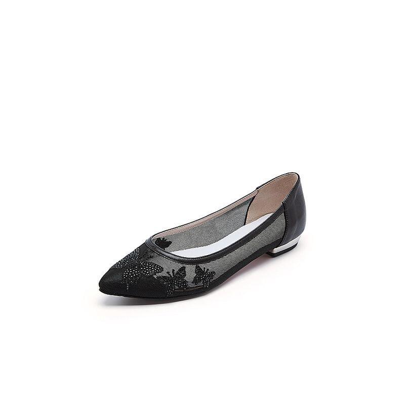 Belle/百丽春季专柜同款油皮绵羊皮女皮鞋BOH01AQ7