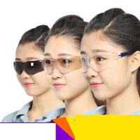 【支持礼品卡】护目镜 防风防尘眼镜骑行防雾防冲击男女式透明防护眼镜n5u