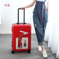 万向轮拉杆箱女可爱小清新个性旅行箱20寸24寸学生韩版登机行李箱SN3037