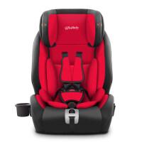 儿童安全座椅汽车用isofix硬接口9个月-12岁幼婴儿宝宝车载通用3C