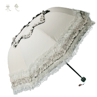 欧式古典拱形蕾丝黑胶太阳伞防学生女公主伞遮阳晴雨伞