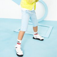 【年前最后狂欢,1件3折到手价:44.7】美特斯邦威旗下Moomoo童装男童七分裤2018夏季新款中大童学生针织七分裤