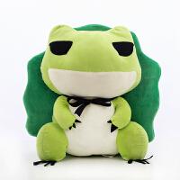 旅行青蛙公仔毛绒玩具青蛙玩偶二次元周边抱枕公仔送女友生日礼物