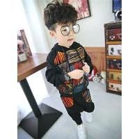 2儿童帅气套装宝宝秋装1-3岁童装2018新款5男童洋气两件套6韩版潮