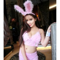 性感情趣内衣兔女郎制服夜店女王可爱兔子三点式激情套装sm