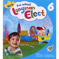 新版香港朗文幼儿园英语培训教材 New Pre-school Longman Elect 第六册学生书