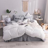 四件套北欧简约风1.5m1.8m床单人床单被套床上用品2.0m双人床
