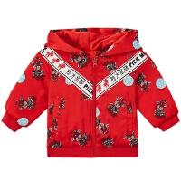 【1件3.5折价:118.7,28日0点可叠券】moomoo童装女婴童棉衣春小宝宝印花保暖棉服