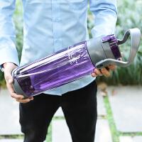户外运动水壶2000ml健身随手水杯子大容量太空杯塑料水杯便携