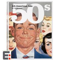 All-American Ads of the 50s 50年代的美国广告 广告年鉴 设计年鉴 文案广告创意图书