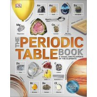 The Periodic Table Book 英文原版 DK元素周期表图解百科