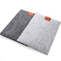 羊毛毡苹果笔记本电脑内胆包保护套macbook pro air/13/15寸mac 浅灰色IPAD mini 其它尺寸