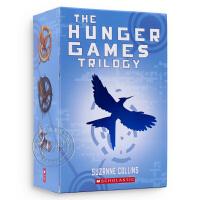 现货英文原版小说 饥饿游戏三部曲 The Hunger Games Trilogy全套1-3册 电影原著小说 燃烧的女