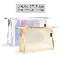 新款韩版时尚大容量化妆袋旅行便携收纳包小透明防水洗漱包女