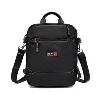 尼龙休闲包竖款12寸平板电脑包手提包单肩斜挎包轻便帆布男包