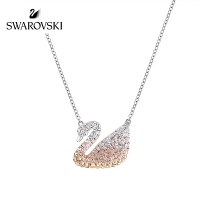 SWAROVSKI/施华洛世奇 Swan渐变色小天鹅项链 5215034(大号)