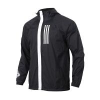 Adidas阿迪达斯 男装 运动防风衣休闲连帽夹克外套 DZ0052
