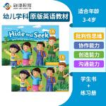 Hide and Seek 1A级别学生用书+练习册 英语原版进口幼儿英语教材美国国家地理幼儿英语教材