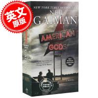 [现货]美国众神 美剧封面版 英文原版 American Gods TV tie in edition by Neil