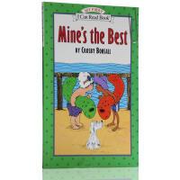 【全场300减100】【送音频】英文原版 汪培�E书单一阶段 my first i can read:Mine's the