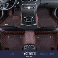 汽车脚垫全包围丝圈专用于本田CRV锋范九代雅阁飞度XRV杰德脚垫