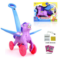 儿童手推户外玩具吹泡泡机全自动安全环保电动音乐声光*泡泡车