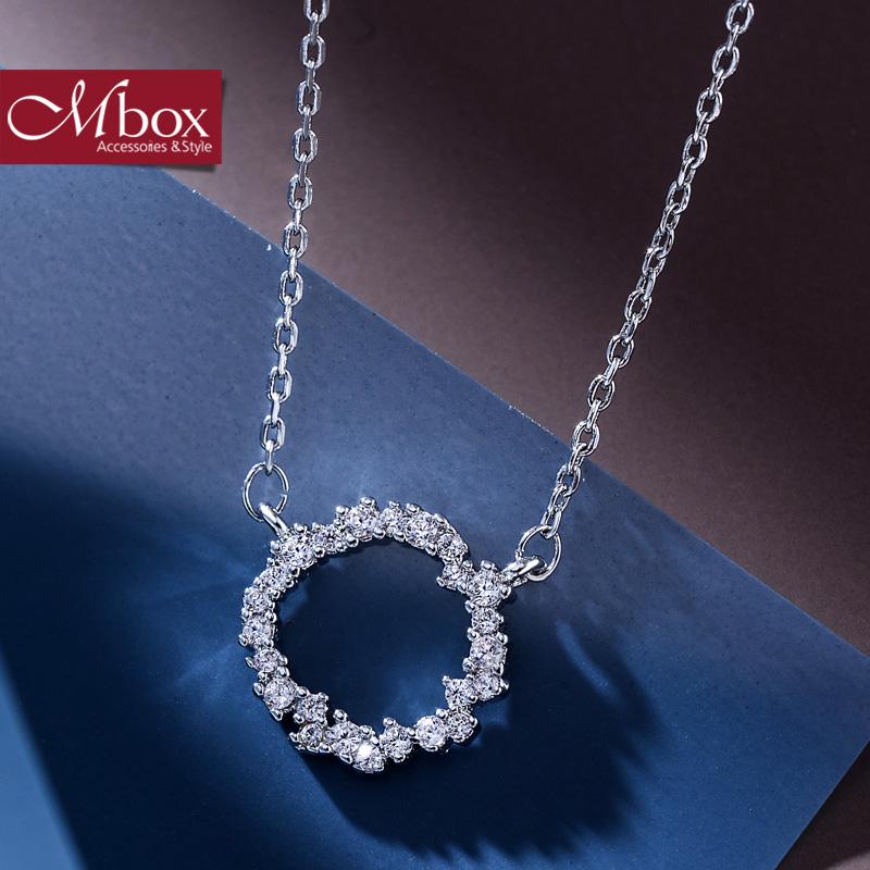 新年礼物Mbox项链 女韩国版原创采用波西米亚风元素时尚锁骨项链 心之所向韩版潮流 小资原创 送精美包装