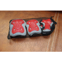 儿童运动骑行护具6件套装滑板自行车平衡车溜冰轮滑专用护膝护肘