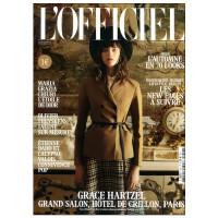 包邮全年订阅 L'Officiel Paris 女性时尚杂志 法国法文原版 年订10期