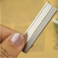 新品 羽毛牌-美容美妆工具修眉小工具化妆师专用的修眉毛刀片 (10片装) 1盒(10片装)