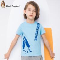 【3折价:59.7元】暇步士童装新款夏装男童半袖圆领衫中大童短袖t恤儿童T恤