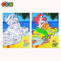 儿童水彩画颜料套装diy画画益智水粉画幼儿园涂色填色画纸涂鸦画