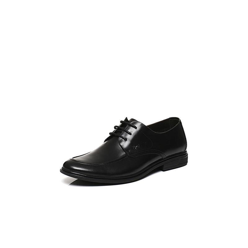 Belle/百丽春专柜同款商务风正装牛皮男皮鞋4SP01AM7