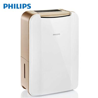 飞利浦 (PHILIPS) 除湿机 抽湿机 干燥机 适用面积41-60平方米 数字湿度显示 家用大容量 DE4202/00 除湿干衣,4L容量水箱,湿度设定,定时除湿