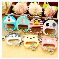 韩版萌动物钥匙扣 创意时尚钥匙链 钥匙圈挂件