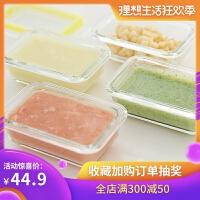 FaSoLa 耐�岵Aэ�盒 微波�t烤箱用保�r盒密封便��碗��和��o食碗