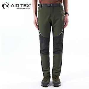 AIRTEX/亚特耐磨多拼色软壳徒步裤男款 英国时尚户外