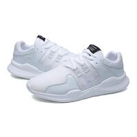 13男孩鞋子10大童男鞋白色运动鞋12青少年15岁初中学生休闲网布鞋