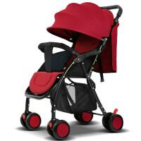 W 婴儿推车儿童超轻便携可坐躺冬夏简易折叠小婴儿车宝宝四轮伞车j13