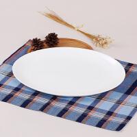 【当当自营】SKYTOP斯凯绨 碗盘碟陶瓷骨瓷餐具套装 30头白瓷月光型