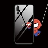 华为p30 p20 pro nova4 nova3 e 手机壳玻璃趣味搞怪蜘蛛侠萌创意