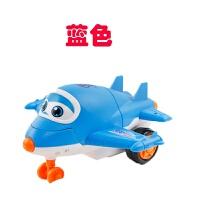 飞机侠变形女孩惯性警察宝宝儿童模型战斗机塑料男孩玩具手推 抖音